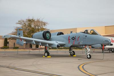 United States Air Force Fairchild A-10C 78-0709 11-12-17