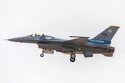 United States Air Force General Dynamics F-16CG 90-0747 11-12-17 2