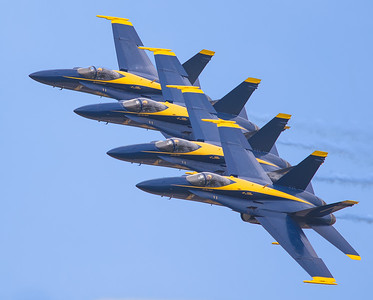 The Blue Angels @ Duluth 2014