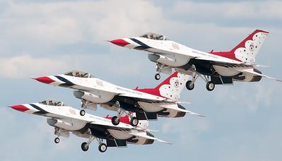 USAF Thunder Birds @ Duluth Minnesota