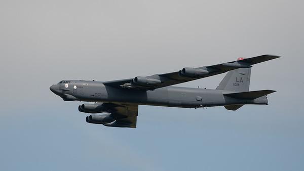 USAF B-52 Stratofortress bomber at London Ontario