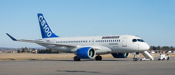 Bombardier CS 100