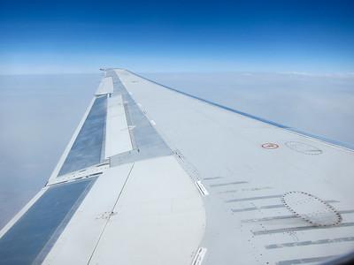 Delta flight somewhere between Denver and Minneapolis