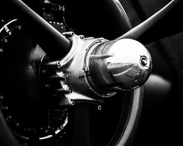 Radial Engine & Propeller