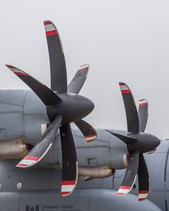 RCAF CC-130J Hercules at London 2016