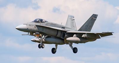 CF-18 Hornet at Thunder Bay Ont. 2011