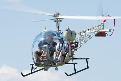 Bell 47G at Oshkosh 2016