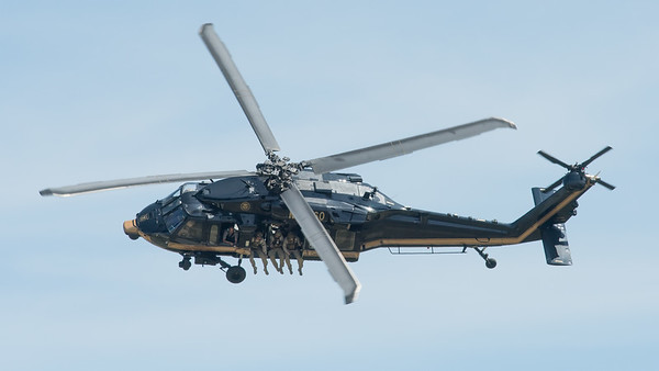 U.S. Customs UH-60 Blackhawk at Oshkosh 2016