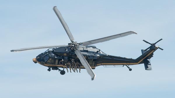 U.S. Customs UH-60 Blackhawk at Oshkosh 2016