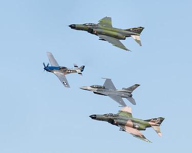 US Air Force Heritage Flight