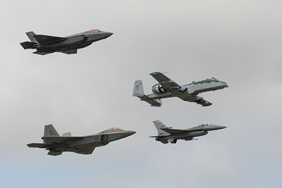 USAF Heritage Flight at London Ontario