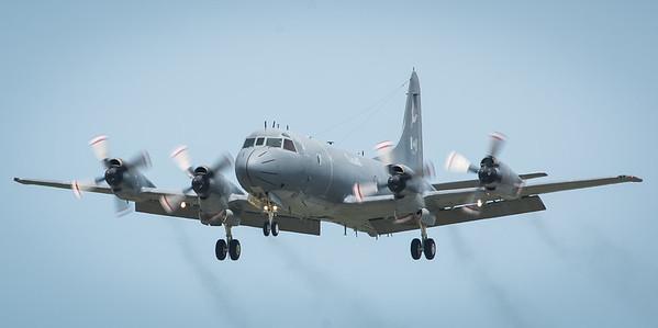CP 140 Aurora Maritime Patrol aircraft Hamilton 2013