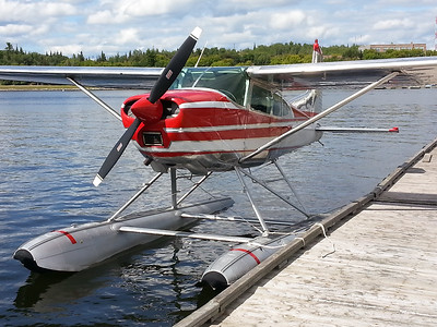 Cessna float plane Kenora