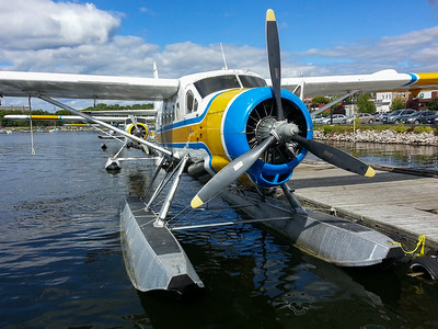 Otter float plane Kenora 2013