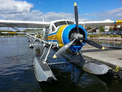 Otter float plane Kenora 2013