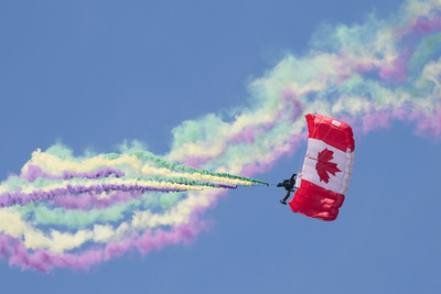 Canadian Armed Forces Skyhawks Parachute Team