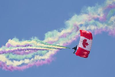 Canadian Armed Forces Skyhawks Parachute Team