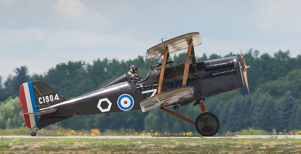 World War 1 SE5a fighter @ Hamilton 2013
