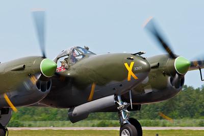 "P-38 Lightning ""Ruff Stuff"" @ Duluth"