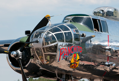 Panchito, a B-25J Mitchell