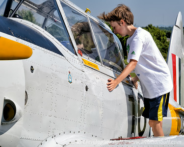 Career Decision? - This could be the moment when a lifelong love of aviation is launched. By Christopher Buff, www.Aviationbuff.com