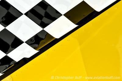 Checkerboard Tail - Christopher Buff, www.Aviationbuff.com