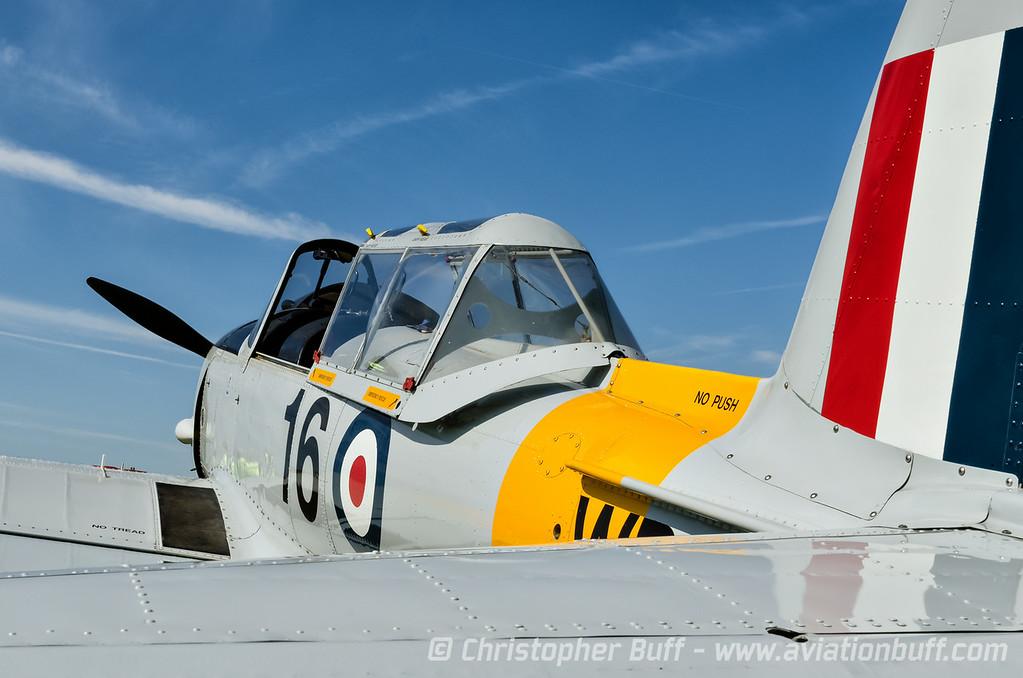 DEHAVILLAND DHC-1 N8342 by Christopher Buff, www.Aviationbuff.com