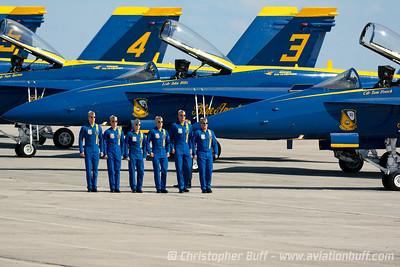 Blues Walkdown - Christopher Buff, www.Aviationbuff.com