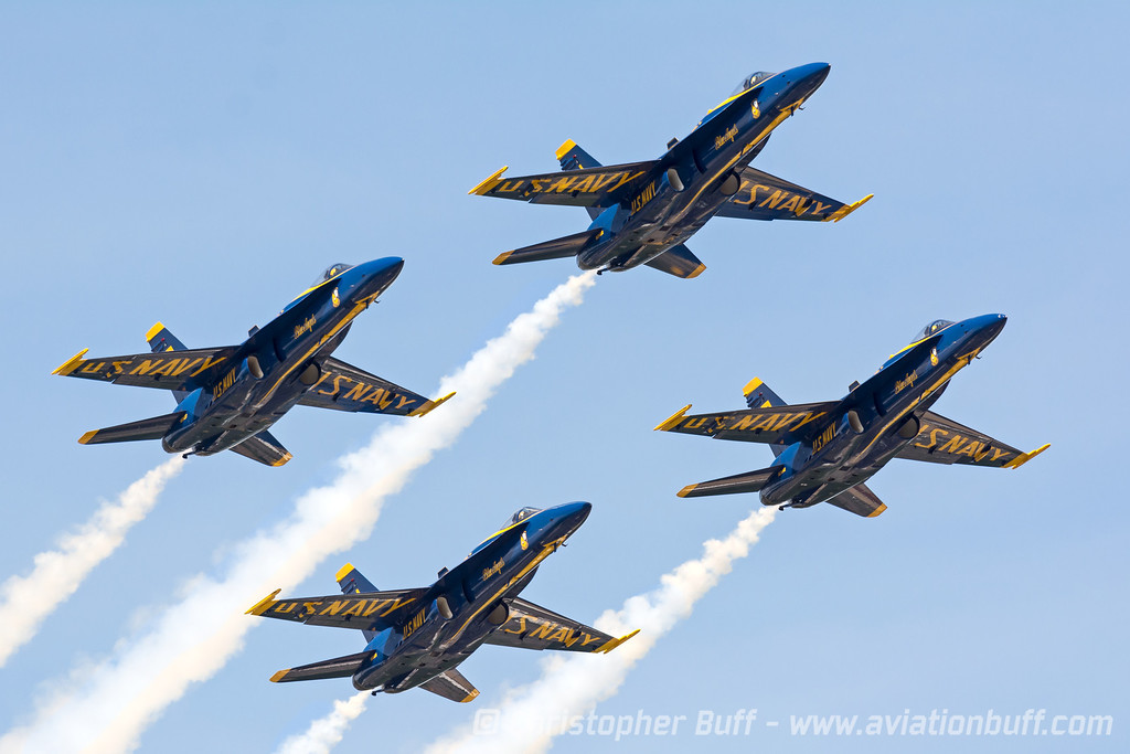 2014 Blue Angels - Christopher Buff, www.Aviationbuff.com