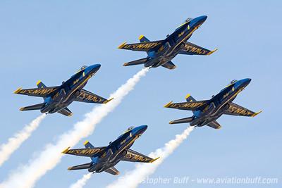 2014 Blue Angels - Christopher Buff, www.Aviationbuff.com