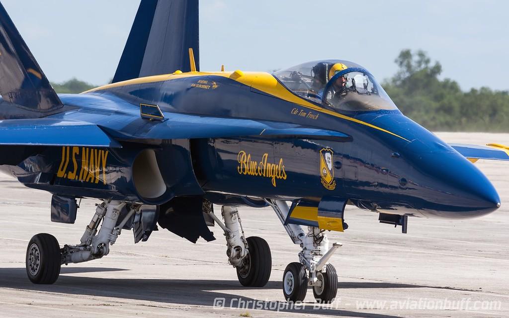Leading the Blues - Christopher Buff, www.Aviationbuff.com