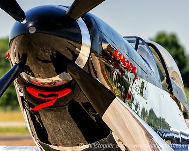 Quick Silver Closeup - Christopher Buff, www.Aviationbuff.com