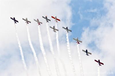 Team AeroDynamix 10 ship - By Christopher Buff, www.Aviationbuff.com