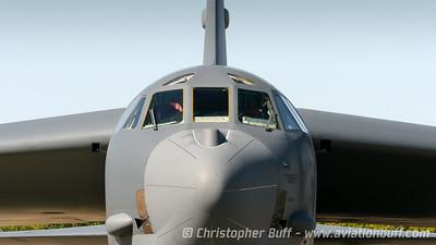 B-52 Nose  - Christopher Buff, www.Aviationbuff.com
