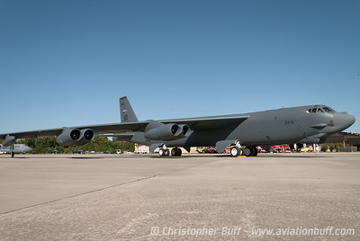 Boeing B-52 Stratofortress - Wide Angle - Christopher Buff, www.Aviationbuff.com