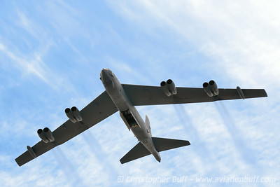 B-52 with open bombay - Christopher Buff, www.Aviationbuff.com