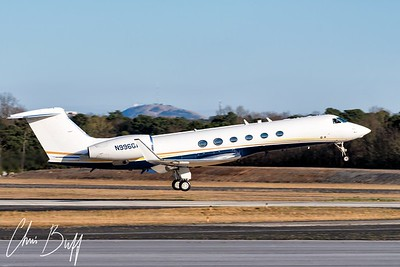 Gulfstream GV - N996GA - 2018 Christopher Buff, www.Aviationbuff.com