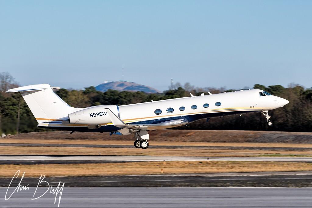 Gulfstream GV - N996GA - 2018 Christopher Buff, www.Aviationbuff.com