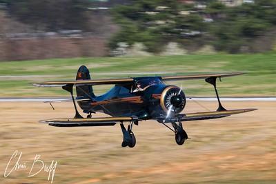 1943 Beech D17S Staggerwing - 2018 Christopher Buff, www.Aviationbuff.com