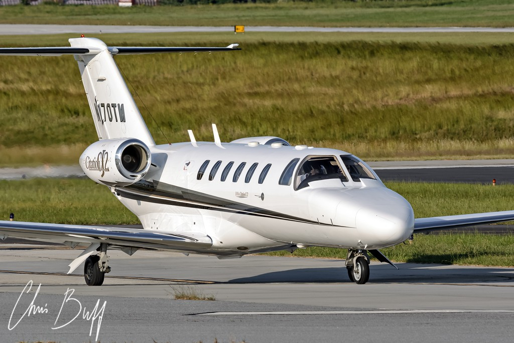 Citation CJ2 - Christopher Buff, www.Aviationbuff.com