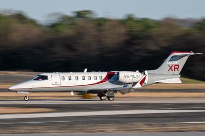 Learjet XR rolling out