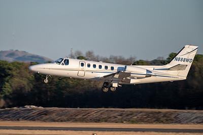 Citation Golden Hour Takeoff