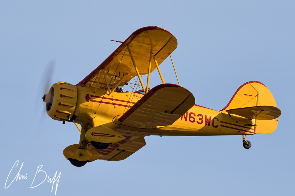 Waco over PDK - 2016 Christopher Buff, www.Aviationbuff.com