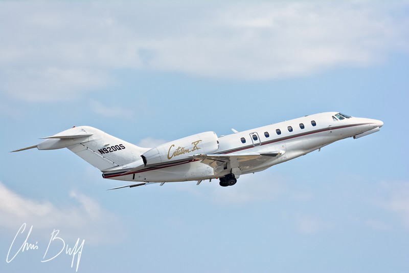 Cessna Citation X  - By Christopher Buff, www.Aviationbuff.com