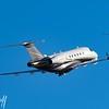 EMB-550 N404FX taking off from PDK Atlanta - 2018 Christopher Buff, www.Aviationbuff.com