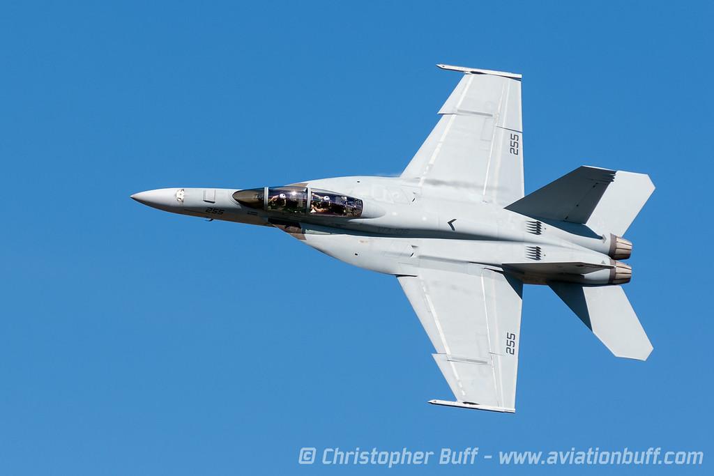 Super Hornet Dedication Pass - By Christopher Buff, www.Aviationbuff.com
