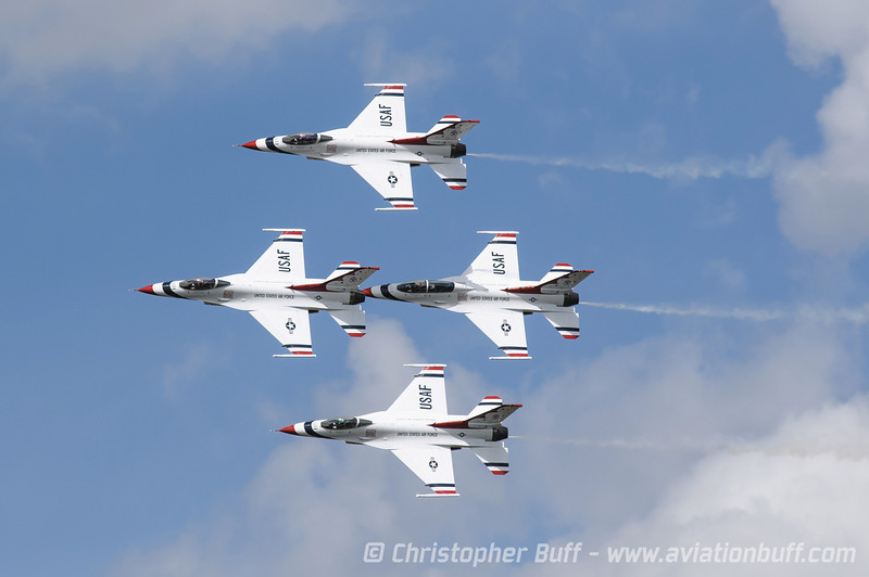 USAF Thunderbirds Photo Gallery by Christopher Buff