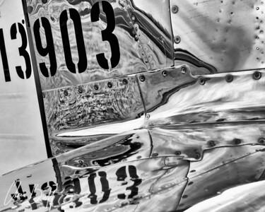 Mustang Reflections by Chris Buff, Aviationbuff.com
