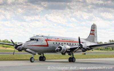 Douglas C-54 Spirit of Freedom  - By Christopher Buff, www.Aviationbuff.com