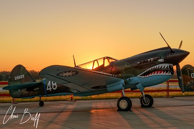 Warhawk at 0 Dark 30 - 2016 Christopher Buff, www.Aviationbuff.com